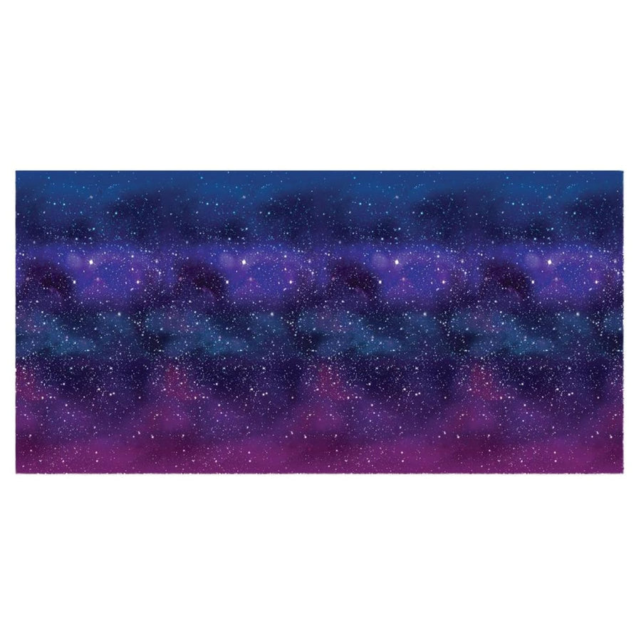 Galaxy Party Backdrop 4x30Ft - Halloween costumes New Costume