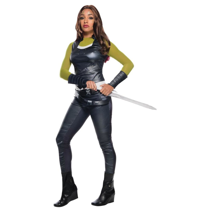 Gamora Deluxe Womens Costume Lg - adult halloween costumes Halloween Costumes