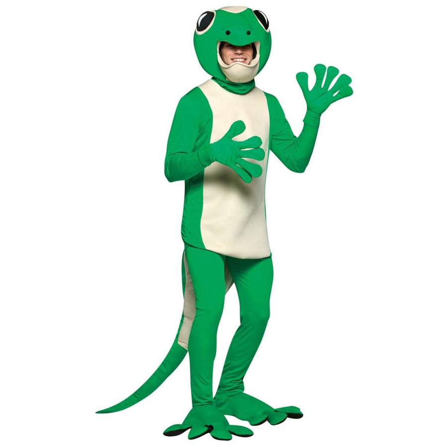 Gecko Adult Costume - adult halloween costumes halloween costumes Mens Costumes