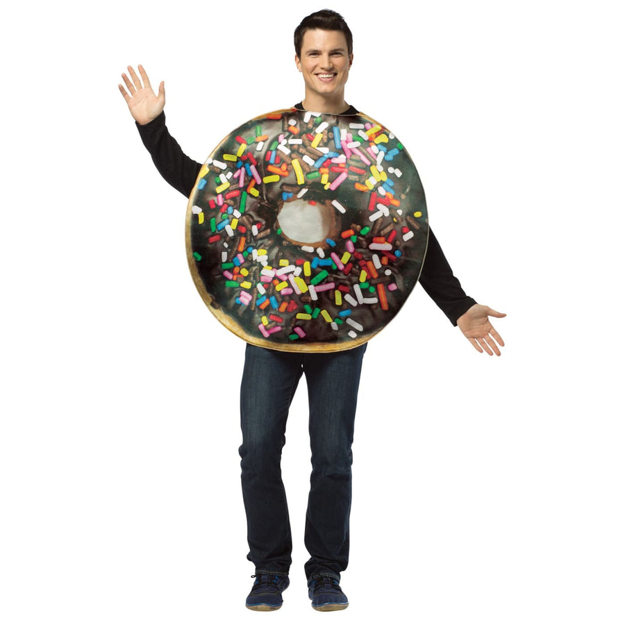 Get Real Doughnut Adult Costume - adult halloween costumes female Halloween