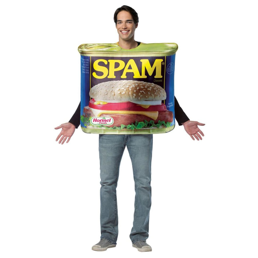 Get Real Spam Adult Costume - adult halloween costumes halloween costumes Mens