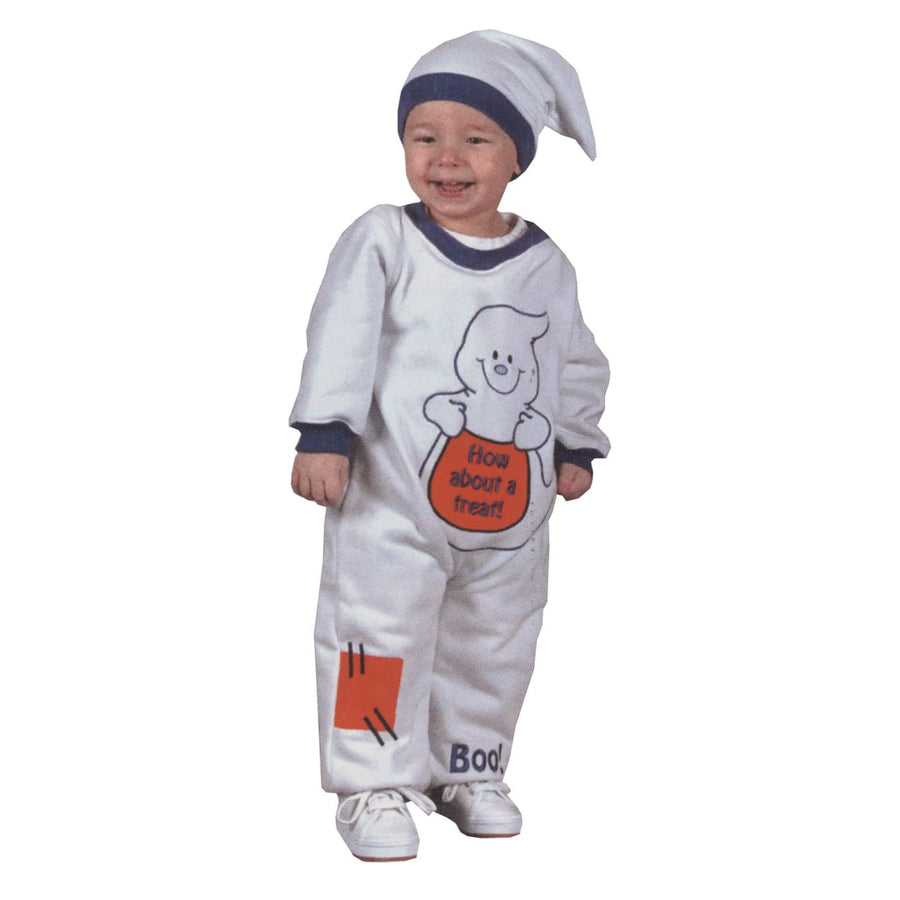 Ghost Baby Costume 6-12 Months - Ghost Halloween Costume Ghoul Skeleton & Zombie