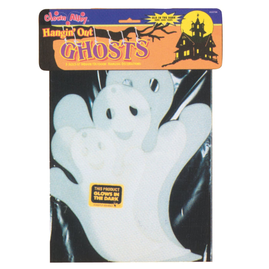 Ghost Hanging Glow - Decorations & Props Halloween costumes haunted house