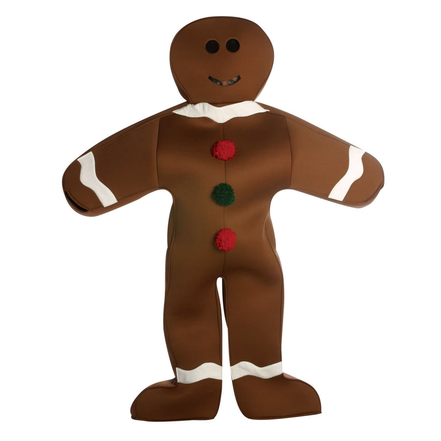 Gingerbread Man Adult Costume - adult halloween costumes Food & Drink Costume