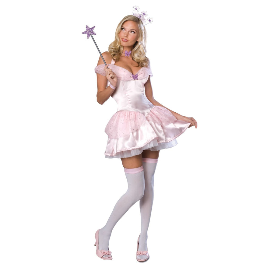 Glinda The Good Secret Wish Womens Costume Sm - adult halloween costumes