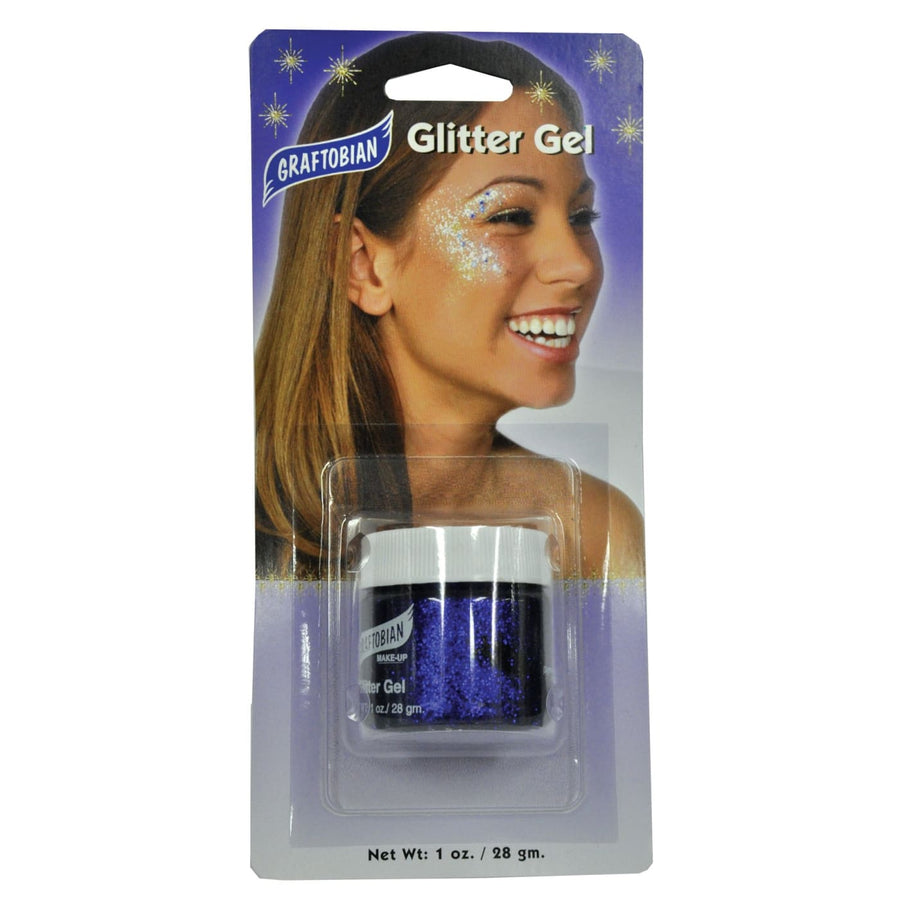 Glitter Gel Purple 1 Oz - Costume Makeup Halloween costumes Halloween makeup