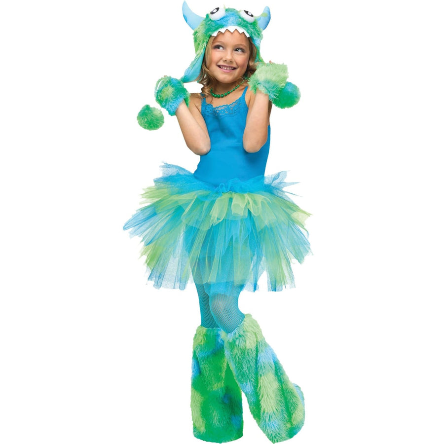 Glitter Tutu Child Green Blue - Animal & Insect Costume Girls Costumes girls