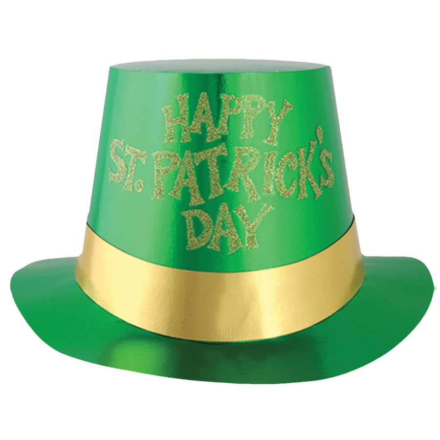 Glittered St Patricks Day Hats 5 Pink - Decorations & Props Halloween costumes