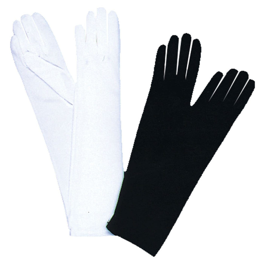 Gloves Child Wht Opera 15In - Glasses Gloves & Neckwear Halloween costumes