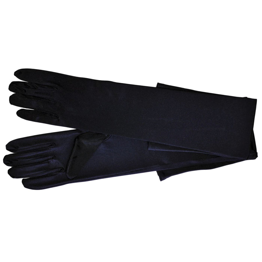 Gloves Shld Lgh Black 1 Size - Glasses Gloves & Neckwear Halloween costumes