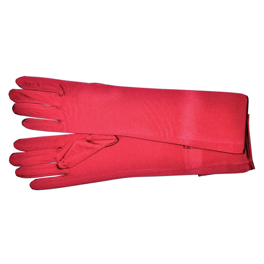Gloves Shld Light Red 1 Sz - Glasses Gloves & Neckwear Halloween costumes