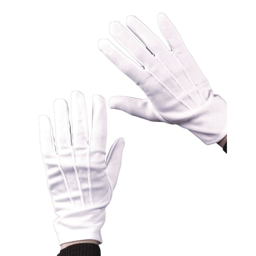Gloves Theatrical W Snap Black - Glasses Gloves & Neckwear Halloween costumes