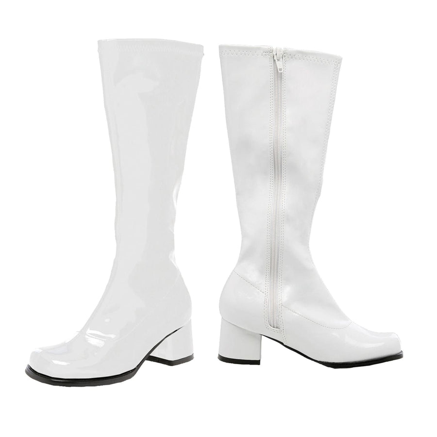 Go Go Boot Child Size 3 White - 60s - 70s Costume Halloween costumes Shoes &