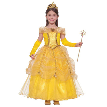 Golden Princes Girls Costume Sm - featured Girls Costumes Halloween costumes New