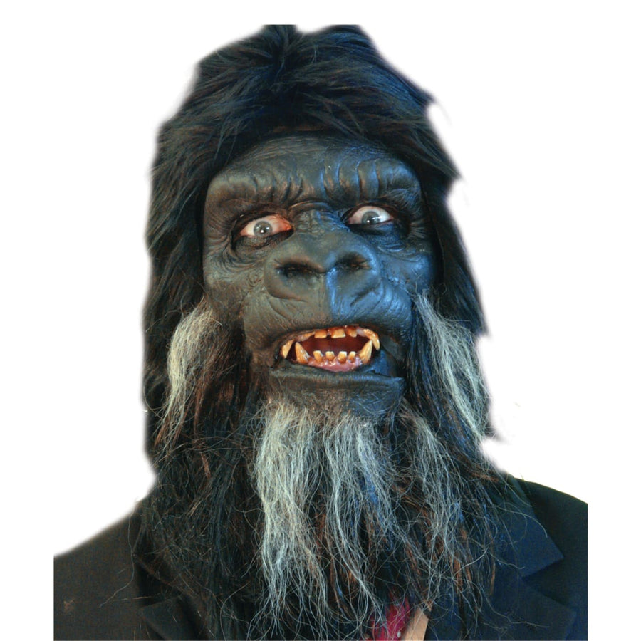 Gorilla Face Foam Prosthetic - Animal & Insect Costume Costume Makeup Halloween
