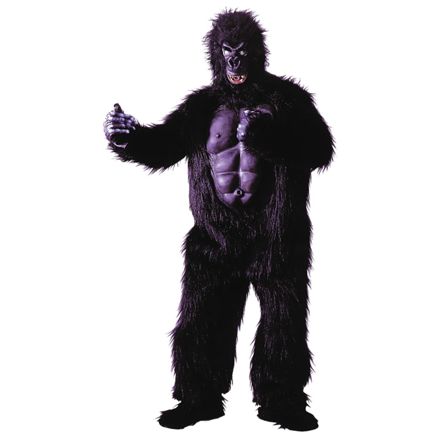 Gorilla W Chest Adult Mascot Costume - adult halloween costumes Animal & Insect