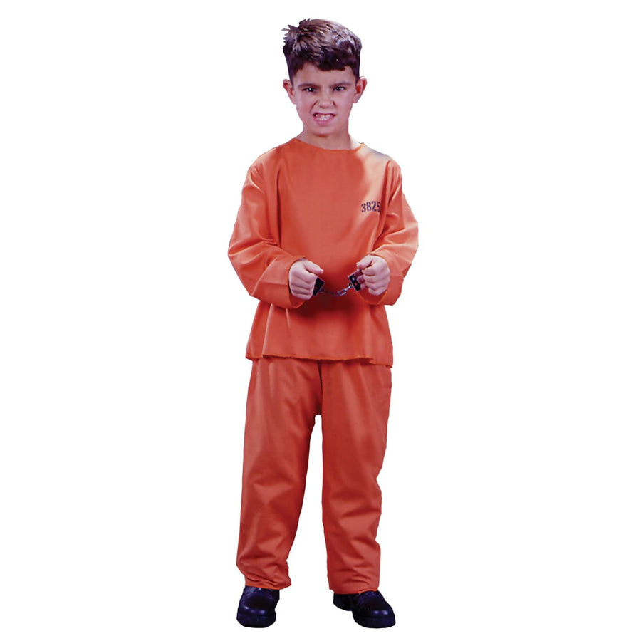 Got Busted Boys Costume Small - Boys Costumes boys Halloween costume Convict &