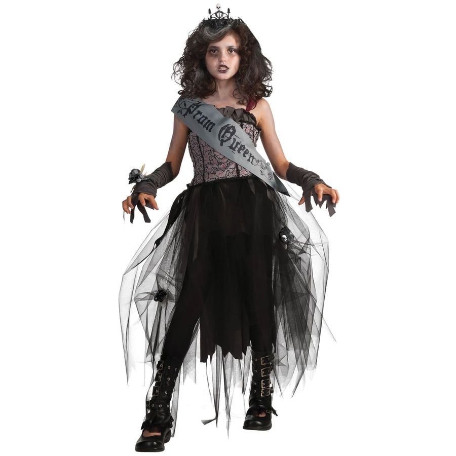 Goth Prom Queen Kids Costume Lg - Girls Costumes girls Halloween costume Goth