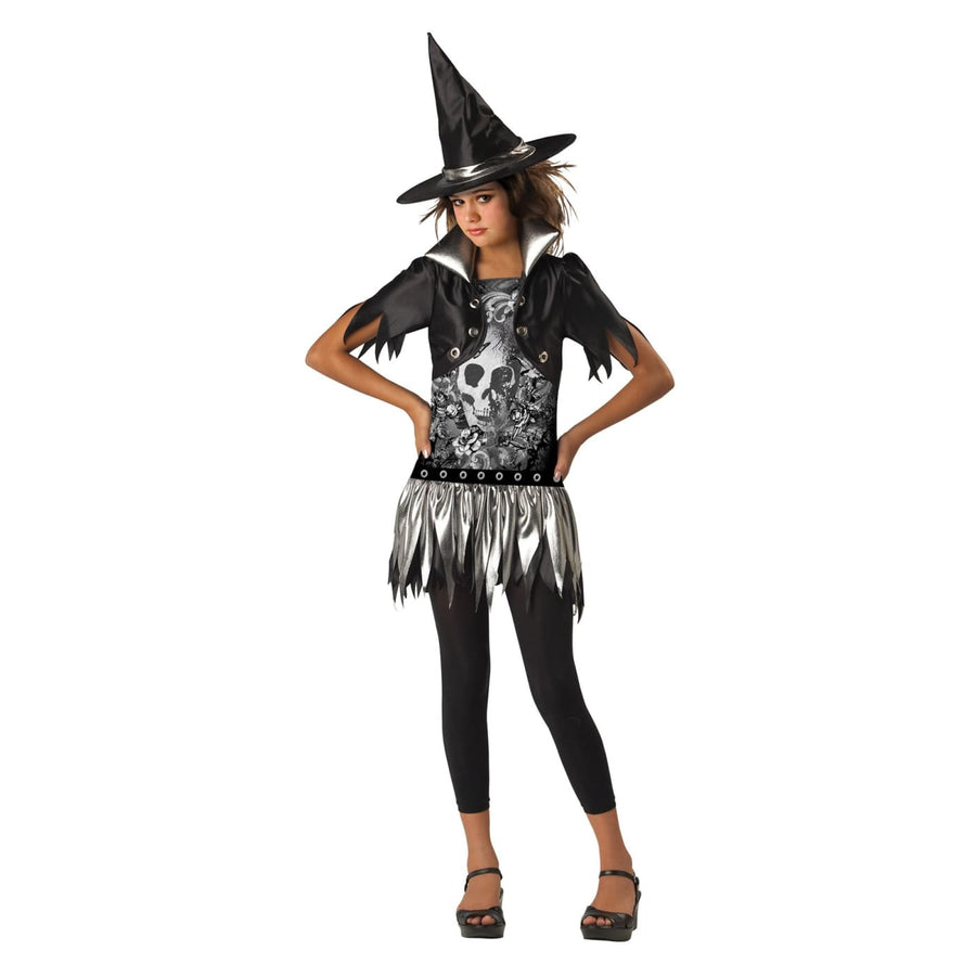 Gothic Witch Child 8-10 - Girls Costumes girls Halloween costume Gothic Witch