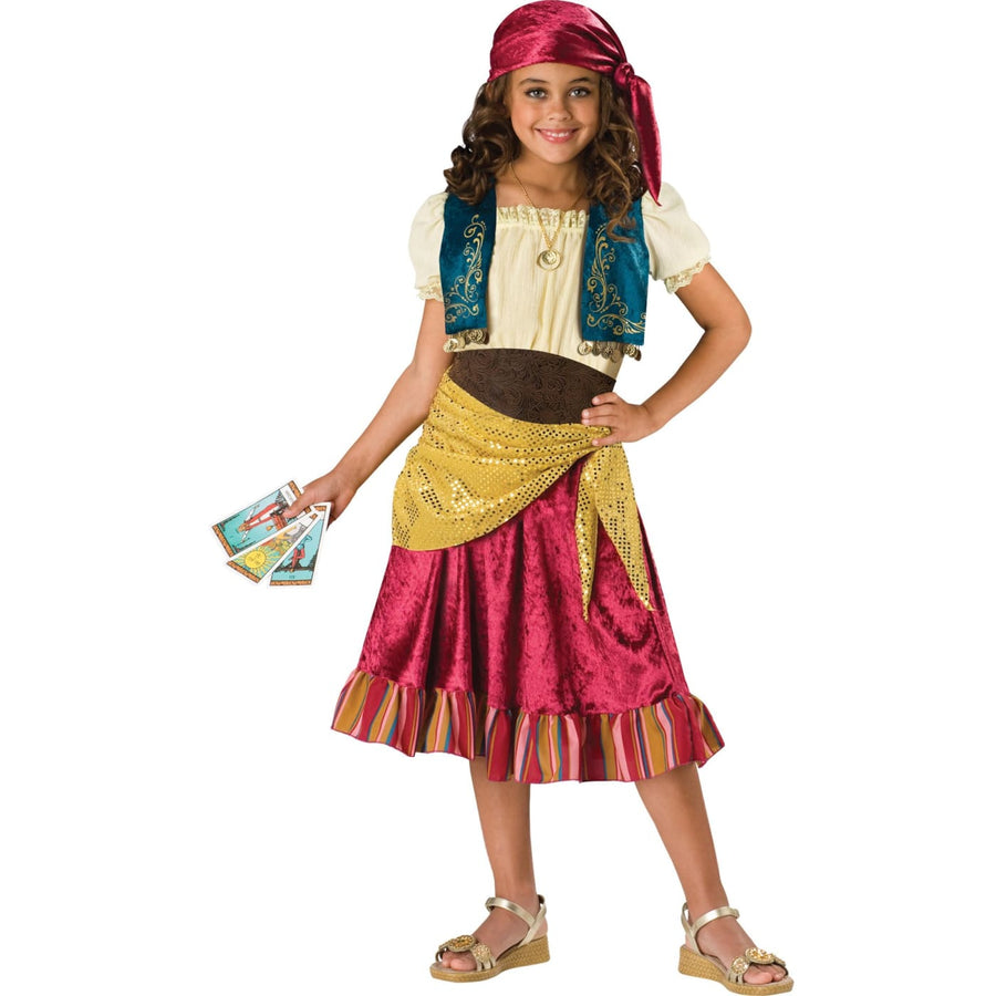 Gypsy Child Sz 8 - Fortune Teller & Gypsy Costume Girls Costumes girls Halloween
