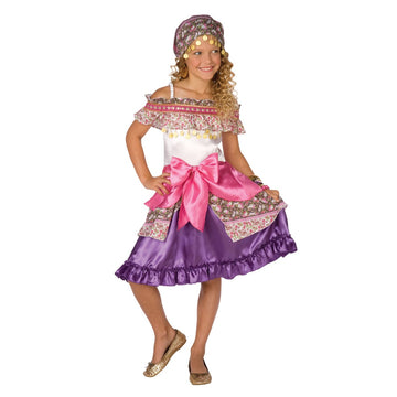 Gypsy Kids Costume Sm 4-6 - Fortune Teller & Gypsy Costume Girls Costumes girls
