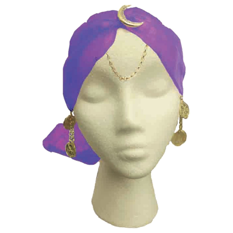 Gypsy Turban Charms - Halloween costumes