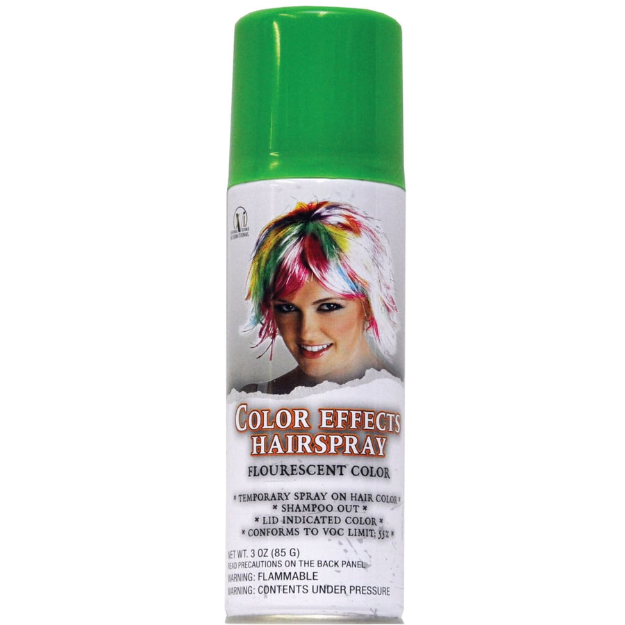Hair Spray Fluor Green - Costume Makeup Halloween costumes Halloween makeup