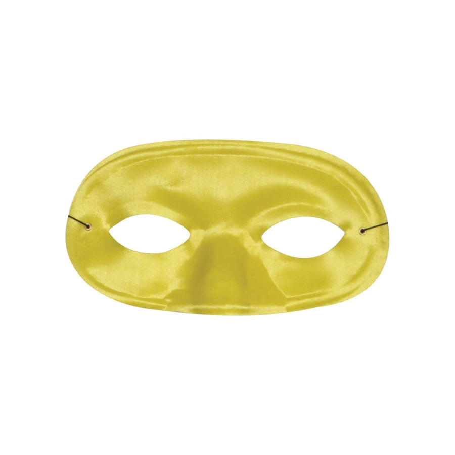 Half Domino Mask Yellow - Costume Masks Half Halloween Costume Halloween