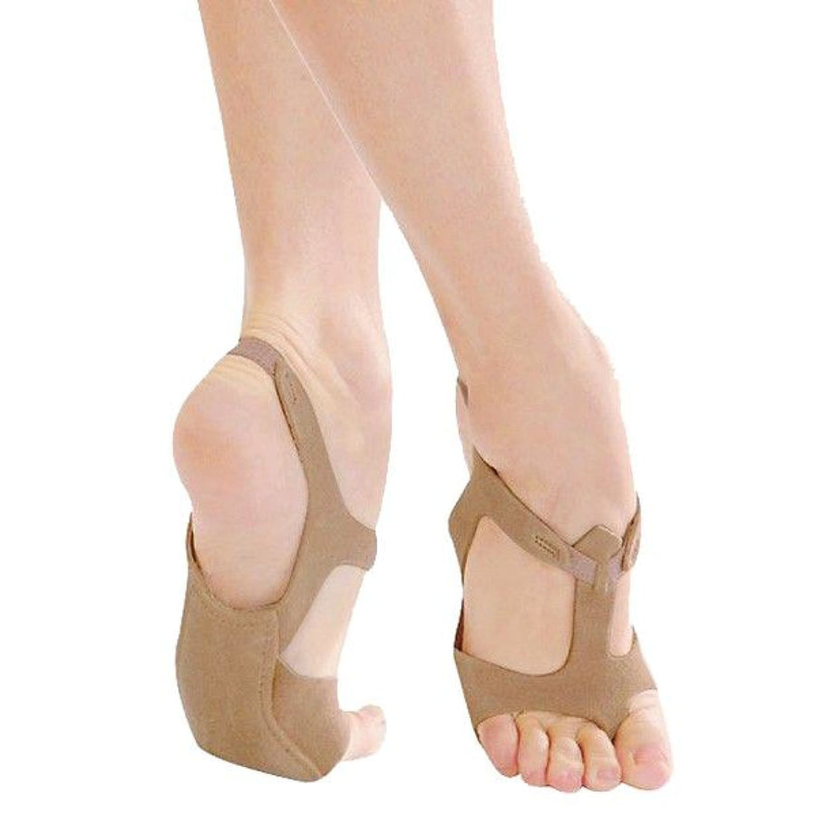 Half Sole Sandasol Tan 1 Adult Shoes - New Costume Shoes & Boots