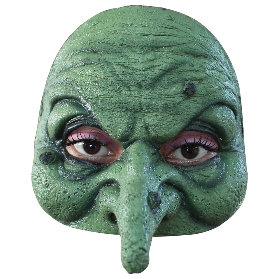 Half Witch Mask - Costume Masks Half Witch Mask Halloween Mask rubber Mask scary