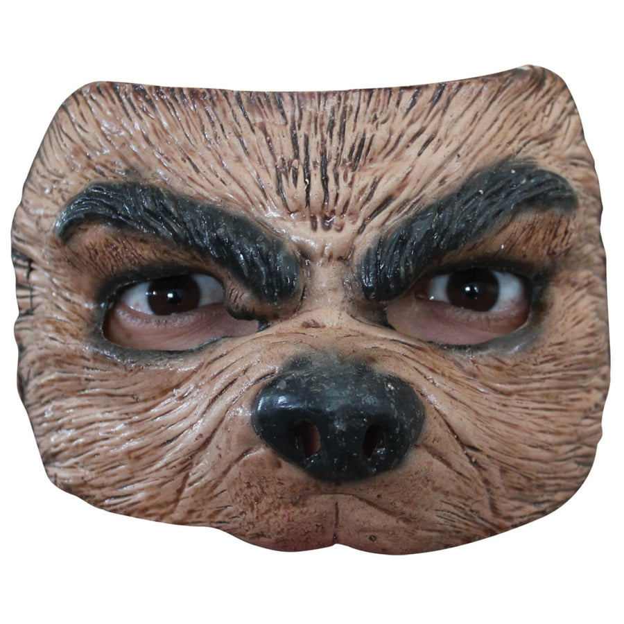 Half Wolf Mask - Animal & Insect Costume Costume Masks Half Halloween Costume