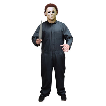 Halloween II Mens Costume Coveralls - Halloween costumes Halloween Movie Costume