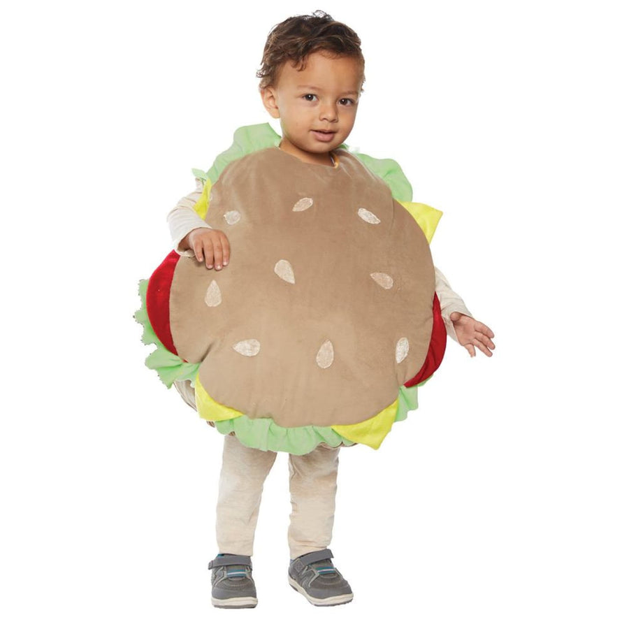 Hamburger Toddler Costume 2-4T - Hamburger Toddler Costume 2-4T New Costume