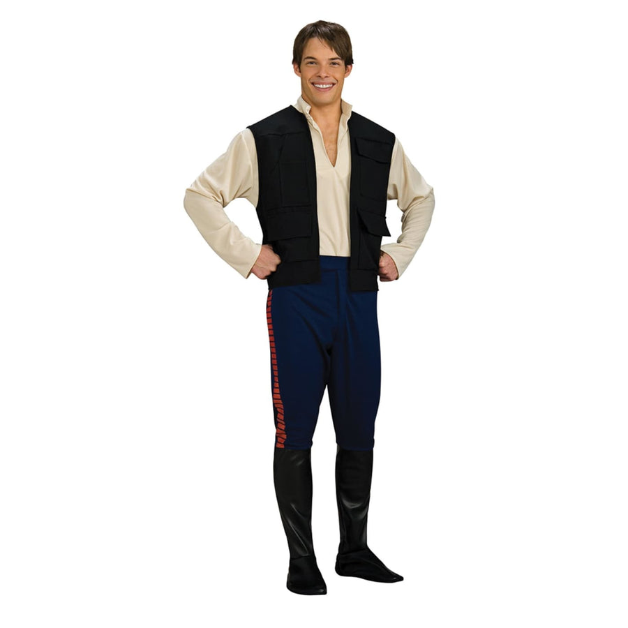 Han Solo Dlx Adult Std - adult halloween costumes halloween costumes male