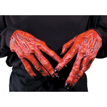 Hands Devil - Halloween costumes Hands Feet & Chest