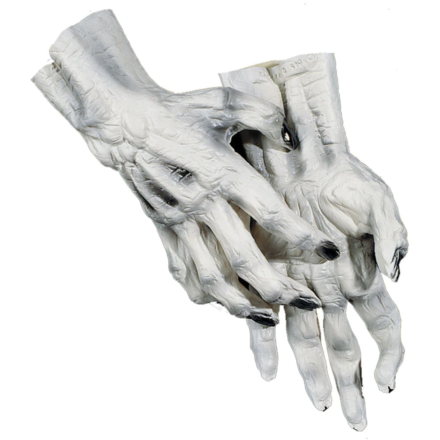 Hands Skeleton White - Ghoul Skeleton & Zombie Costume Halloween costumes Hands