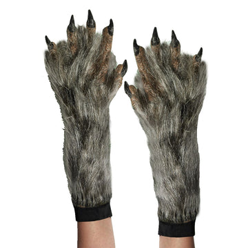 Hands Werewolf Adult - Animal & Insect Costume Glasses Gloves & Neckwear