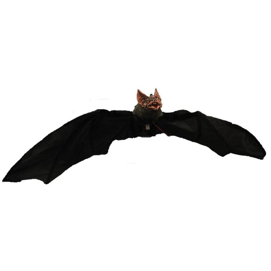 Hanging Bat 68 In Electronic - Decorations & Props Halloween costumes haunted