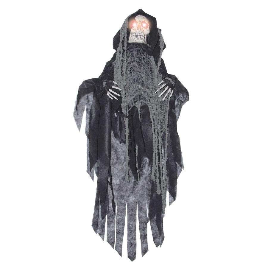 Hanging Black Shaking Reaper - Decorations & Props Halloween costumes haunted