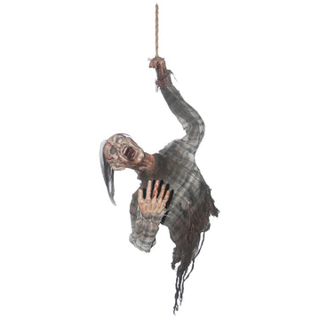 Hanging Bloody Zombie Torso - Decorations & Props Halloween costumes haunted
