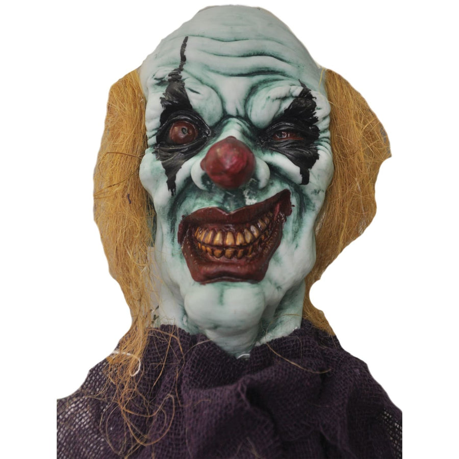 Hanging Devil Clown 36 In Prop - clown costumes Decorations & Props Halloween