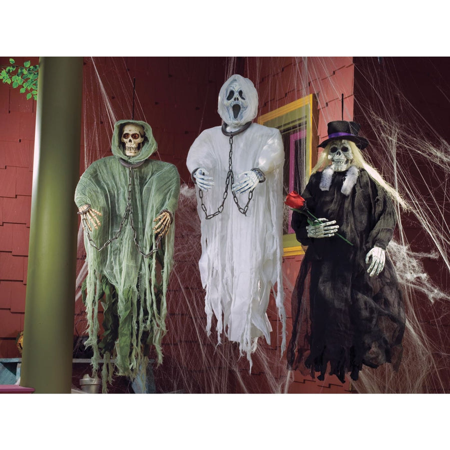 Hanging Figure Ghost Face 36 - Decorations & Props
