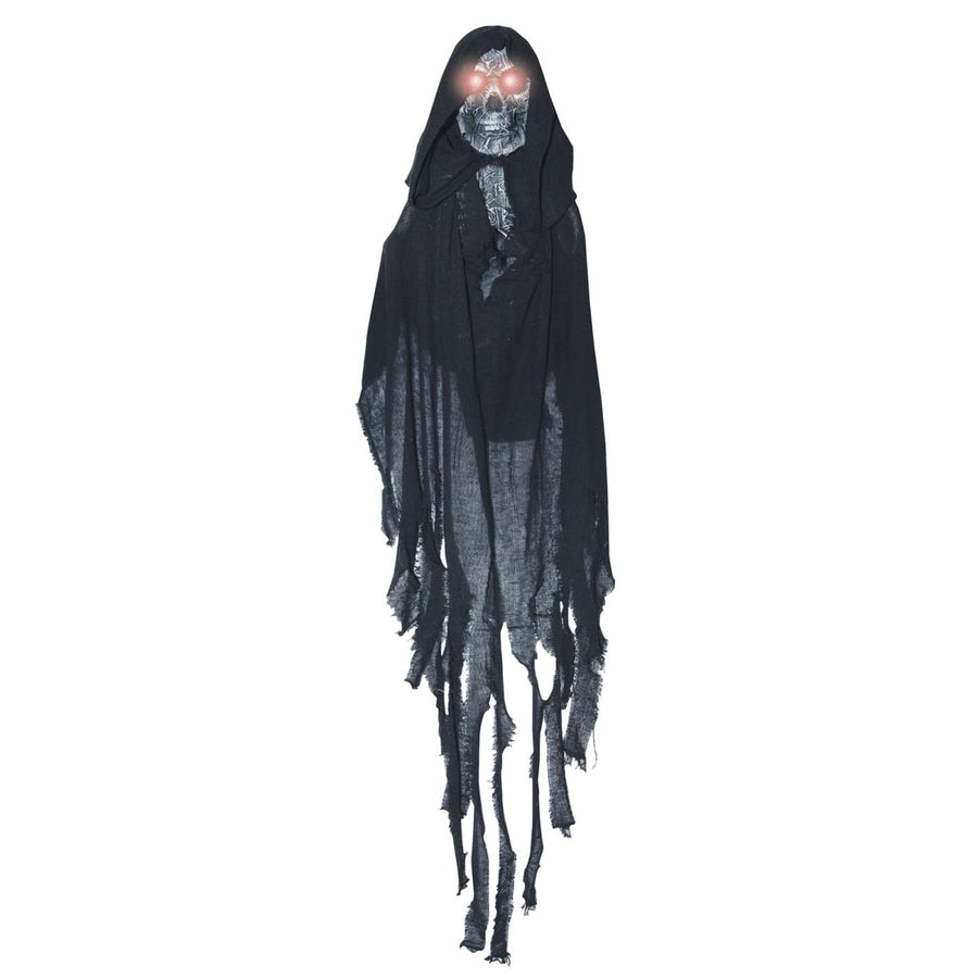 Hanging Lightup Black Ghost - Decorations & Props Halloween costumes haunted
