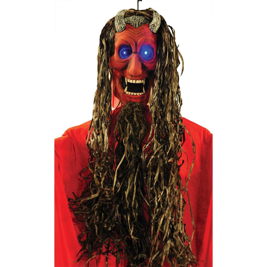 Hanging Red Fanged Demon 10Ft - Decorations & Props Halloween costumes haunted
