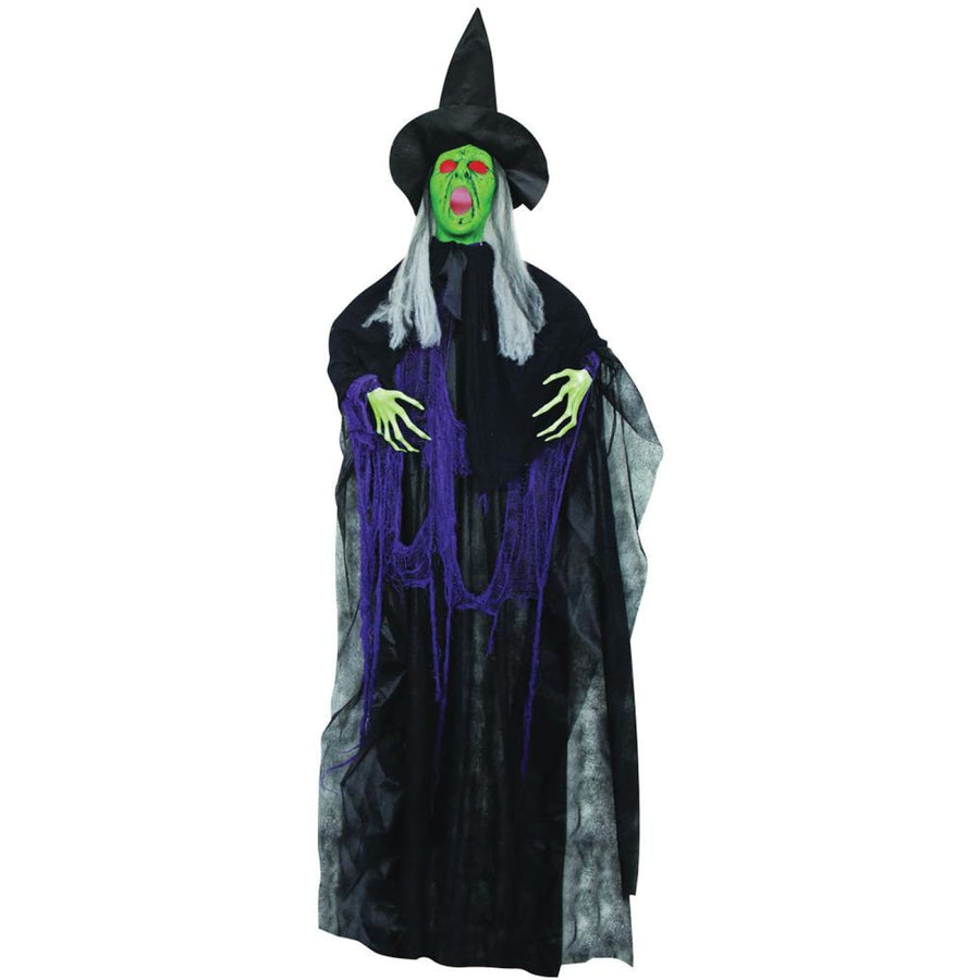 Hanging Sonic Witch 72 Inch Prop - Decorations & Props Halloween costumes