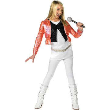 Hannah W Pink Jacket 4 To 6 - Girls Costumes girls Halloween costume Halloween