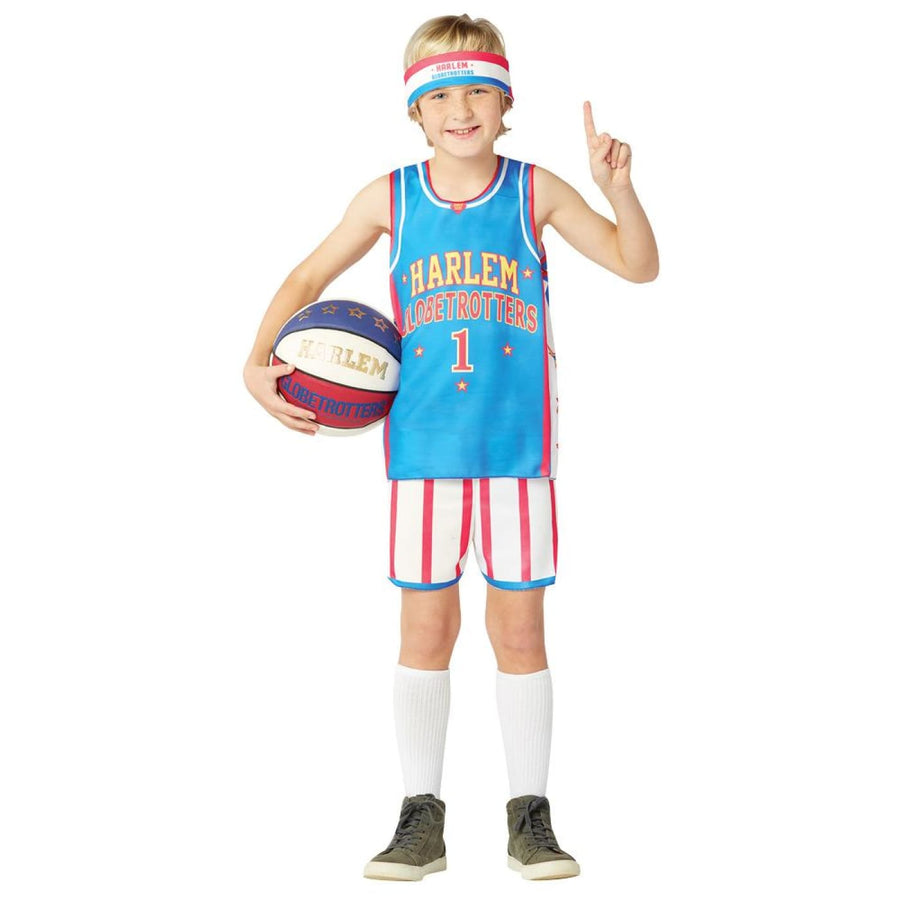 Harlem Globetrotters Boys Uniform 7-10 - Halloween costumes New Costume