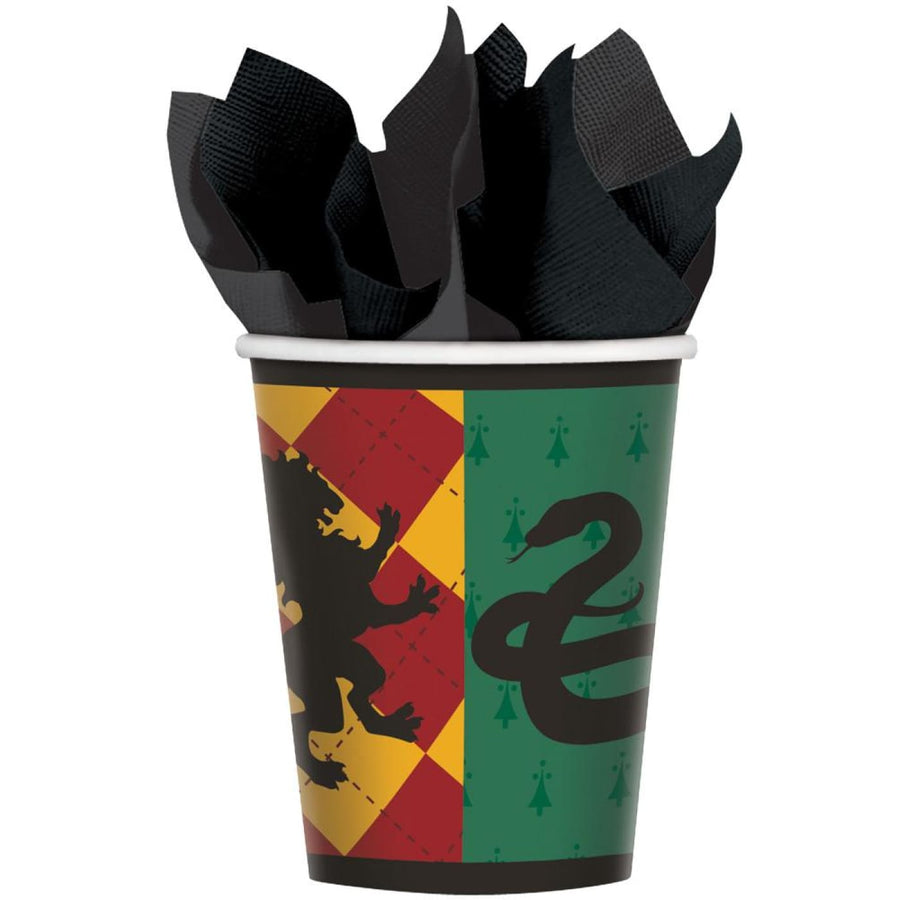 Harry Potter 9 Oz Paper Cups -Set of 8 - Birthday Party Decorations Birthday