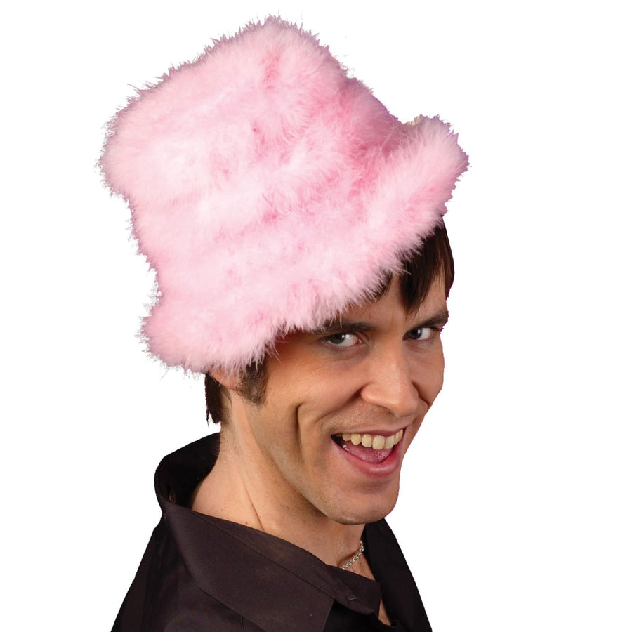 Hat Rapper Pink - Halloween costumes Hats Tiaras & Headgear Holiday Costumes