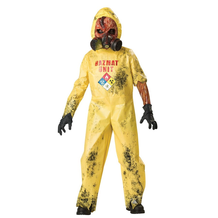 Hazmat Hazard Boys Costume Size 6 - Boys Costumes boys Halloween costume Ghoul